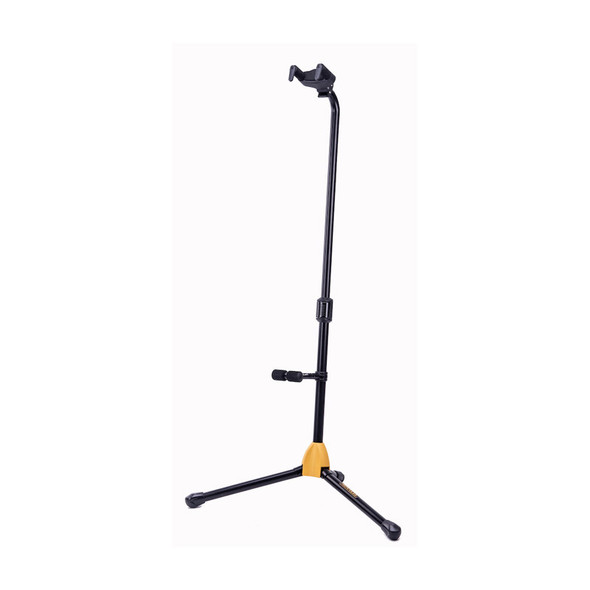Hercules GS412B Plus Single Guitar Stand with Auto-Grip Yoke