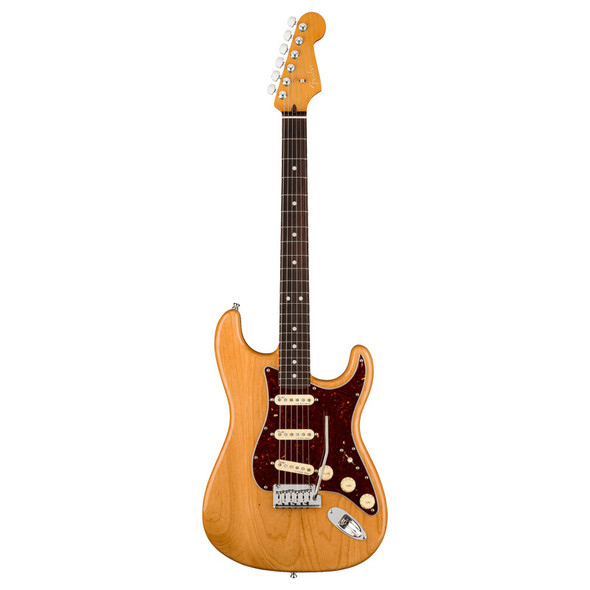Fender American Ultra Stratocaster, Aged Natural, Rosewood