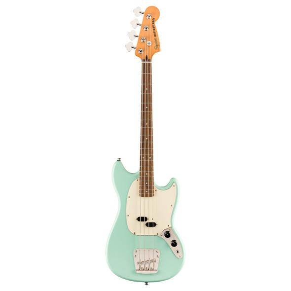 Fender Squier Classic Vibe 60s Mustang Bass, Surf Green, Laurel