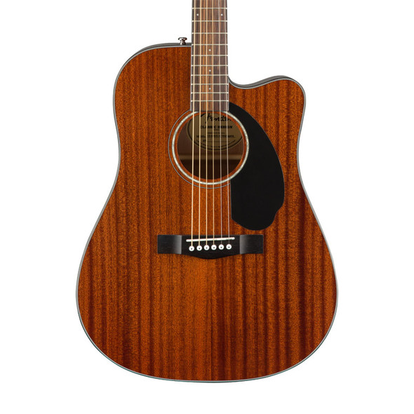 Fender CD-60SCE Dreadnought All-Mahogany Electro-Acoustic Guitar