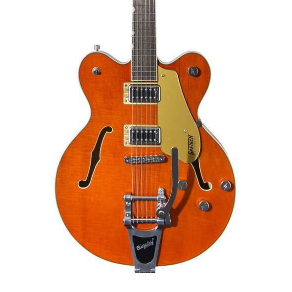 Gretsch G5622T Electromatic Center-Block Electric Guitar with Bigsby, Orange Stain