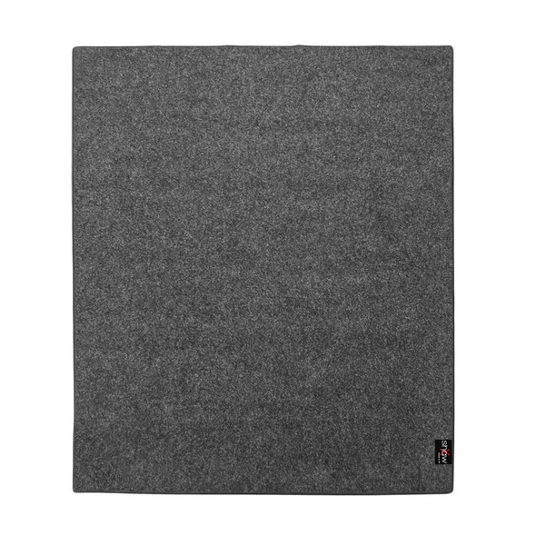 Shaw Pro Series 2.0m x 1.6m Drum Mat in Charcoal