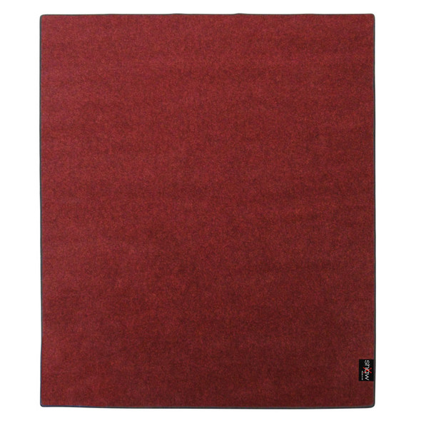 Shaw Pro Series 2.0m x 1.6m Drum Mat in Red
