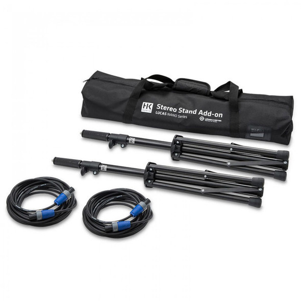 HK Audio Add-On Package Two for Nano 600 - Tripod, 2 x poles & cables, bag