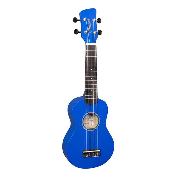 Brunswick BU2SBL Ukulele Soprano, Blue
