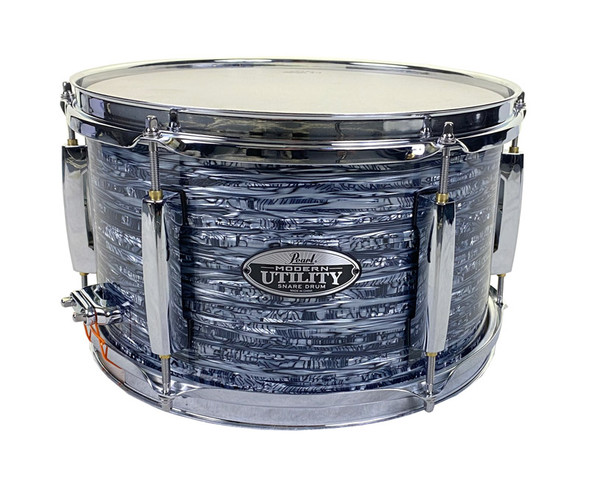 Pearl 12 x 7 Modern Utility Maple Snare Drum in Black Strata