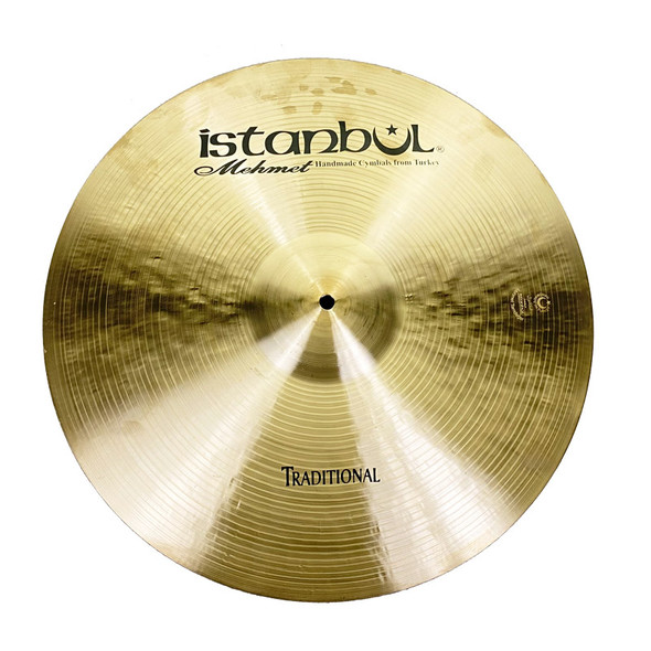 Istanbul Mehmet 20 Inch Traditional Ride Cymbal (Pre-Owned)