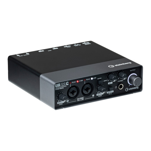 Steinberg UR22C USB 3 Audio & Midi Interface