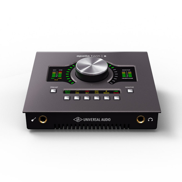 Universal Audio Apollo Twin X QUAD Thunderbolt 3 Interface with DSP