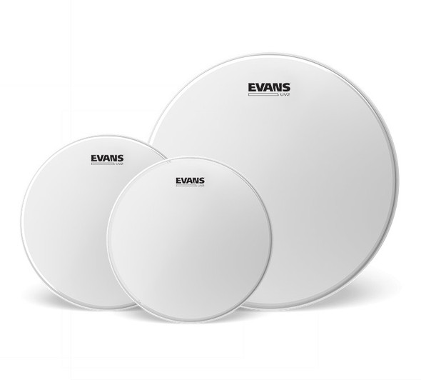 Evans UV2 Coated Tom Pack - Rock (10, 12, 16 inch)