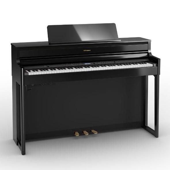 Roland HP704 Premium Concert Class Digital Piano, Polished Ebony