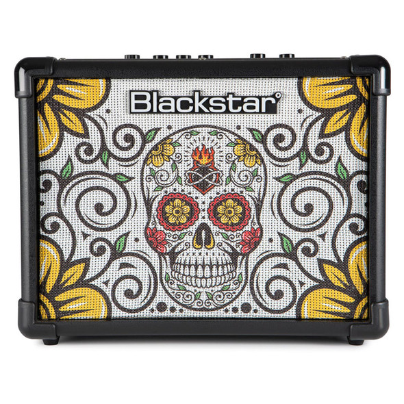 Blackstar ID CORE Stereo 10 V2 Guitar Combo Amplifier, Sugar Skull