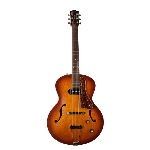 Godin 5th Avenue Kingpin P90 Electro Acoustic Guitar, Cognac Burst