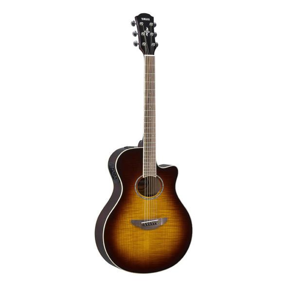 Yamaha APX600FM Electro-Acoustic Guitar, Tobacco Brown Sunburst
