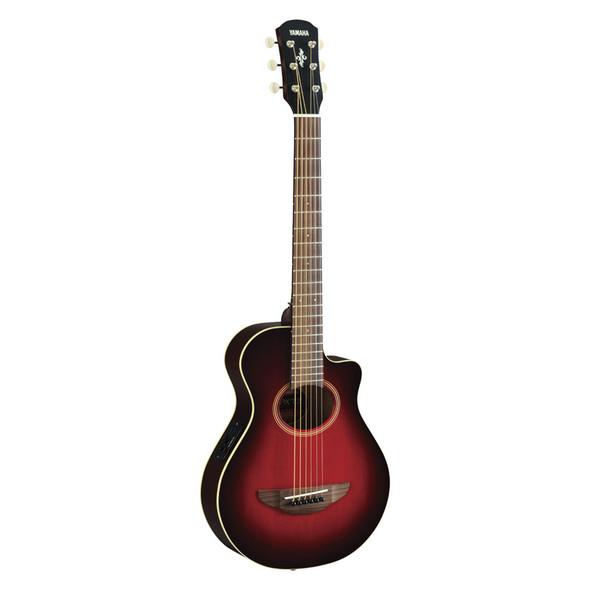 Yamaha APXT2 3/4 Size Electro-Acoustic Guitar, Dark Red Burst