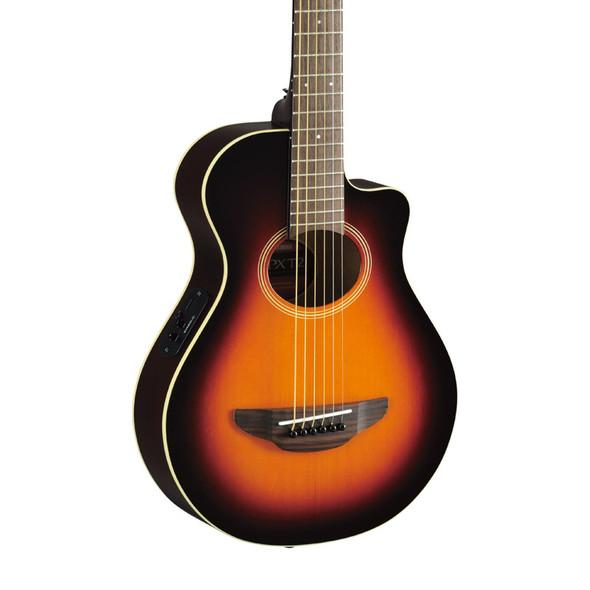 Yamaha APXT2 3/4 Size Electro-Acoustic Guitar, Old Violin Burst