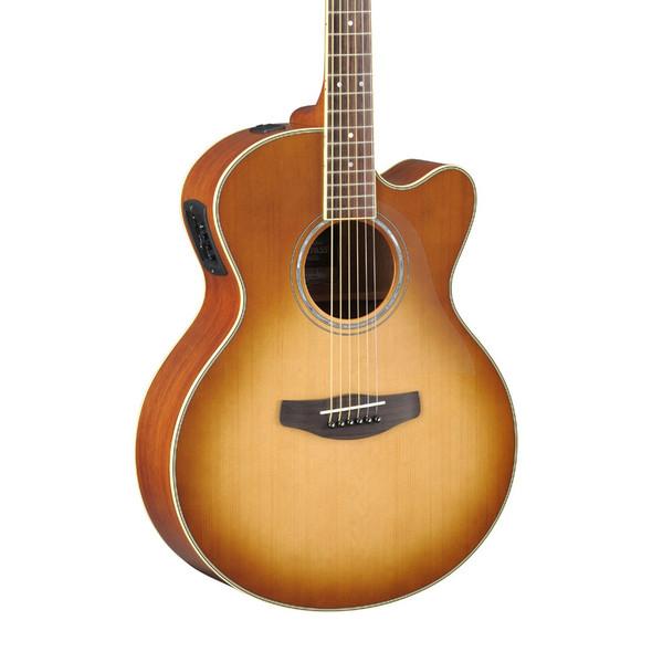 Yamaha CPX700II Electro-Acoustic Guitar, Sand Burst