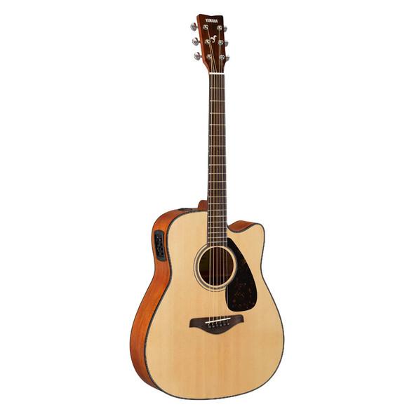 Yamaha FGX800C Electro-Acoustic Guitar, Natural
