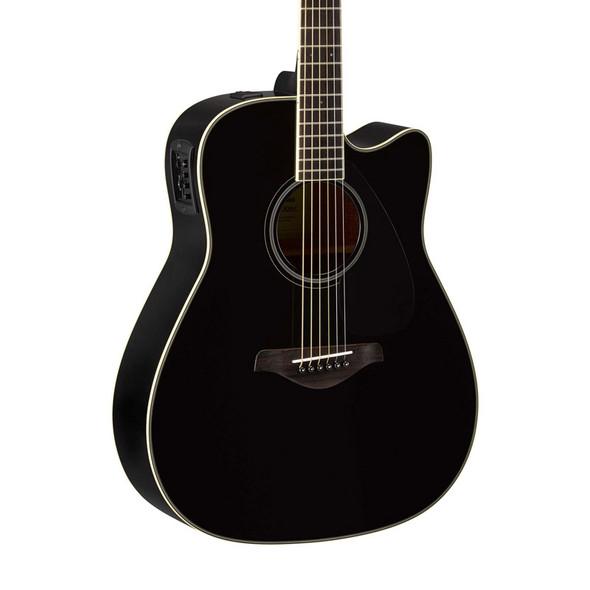 Yamaha FGX820C Electro-Acoustic Guitar, Black