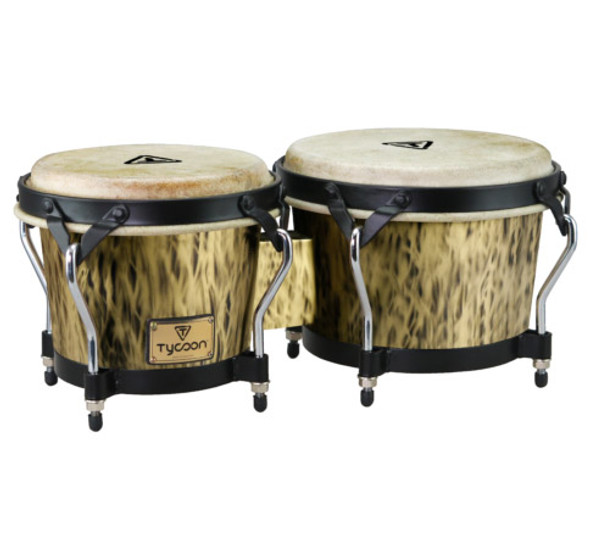 Tycoon Supremo Select Series 7 & 8½ Inch Bongos In Kinetic Gold