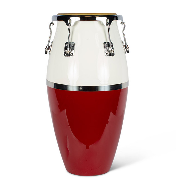 Natal NCSC03RW Classic Series Fibreglass Conga in Red & White