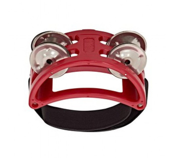 Natal NTFTR Foot Tambourine, Red