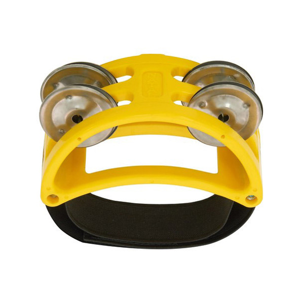 Natal NTFTY Foot Tambourine, Yellow