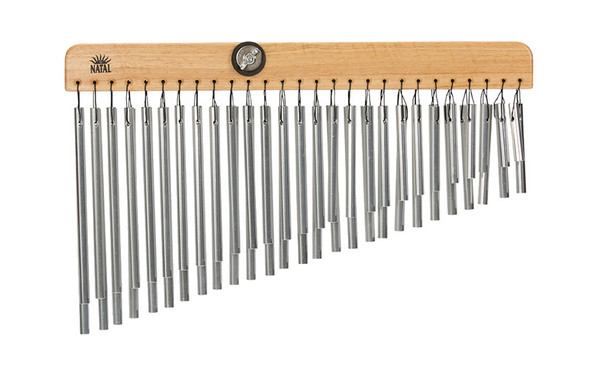 Natal BC-54-D Bar Chimes 54 Bars (Double Row) Natural Aluminium
