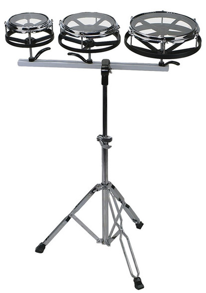 Gewa Music 6,8,10 inch Rototoms With Stand