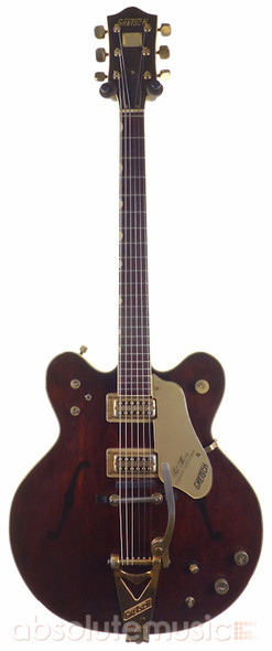 Gretsch 1967 Country Gentleman Electric Guitar, Walnut with Original Case (Pre-Owned)