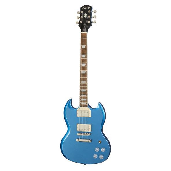 Epiphone SG Muse Electric Guitar, Radio Blue Metallic