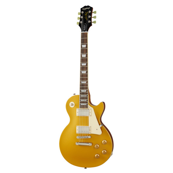 Epiphone Les Paul Standard 50s Electric Guitar, Metallic Gold