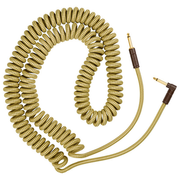 Fender Deluxe Coil Instrument Cable 30ft, Tweed