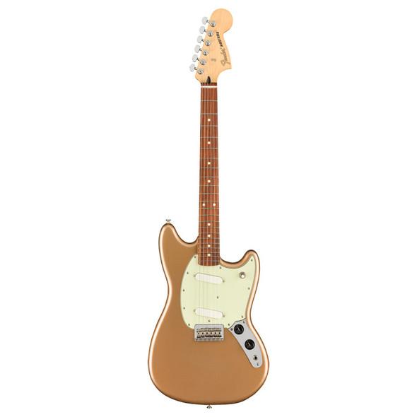Fender Player Mustang Electric Guitar, Firemist Gold, Pau Ferro