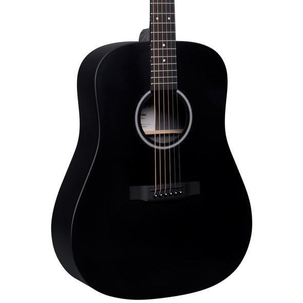 Martin D-X1E HPL Electro-Acoustic Guitar, Black