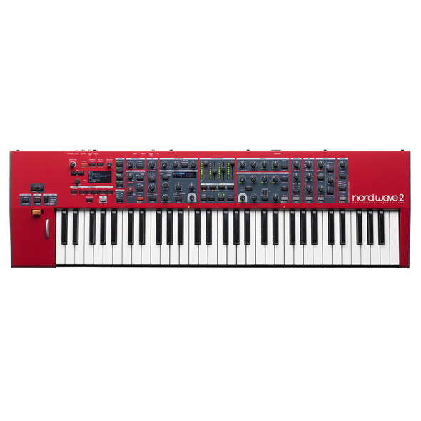 Nord Wave 2 61 Key 4 Part Performance Synthesizer