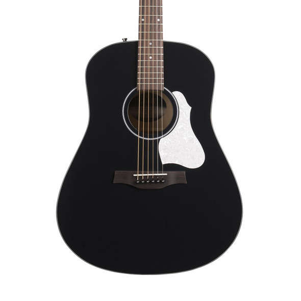Seagull S6 Classic Electro Acoustic Guitar, Black