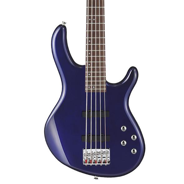 Cort Action V Plus Bass Guitar, Blue Metallic