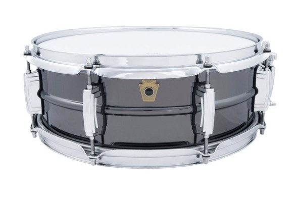 Ludwig 14 x 5 inch 8 Lug Ludwig Black Beauty Snare Drum