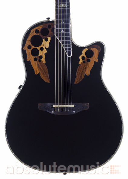Ovation Collectors Series 1987-5 Electro Acoustic Guitar, Black 20 of 100 (Pre-Owned)