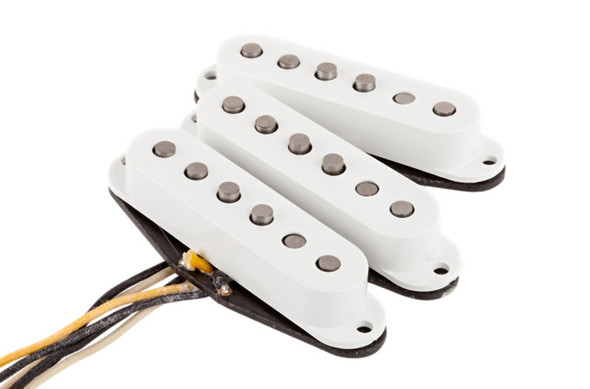 Fender Texas Special Stratocaster Pickups, Set of 3, White