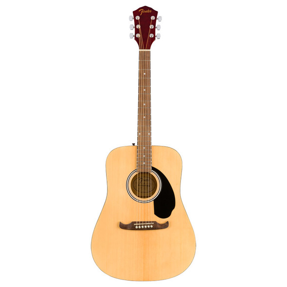Fender FA-125 Dreadnought Acoustic Guitar with Gigbag, Walnut Fingerboard, Natural