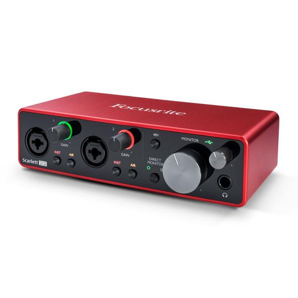 Focusrite Scarlett 2i2 (3rd Gen) USB Audio Interface  (b-stock)