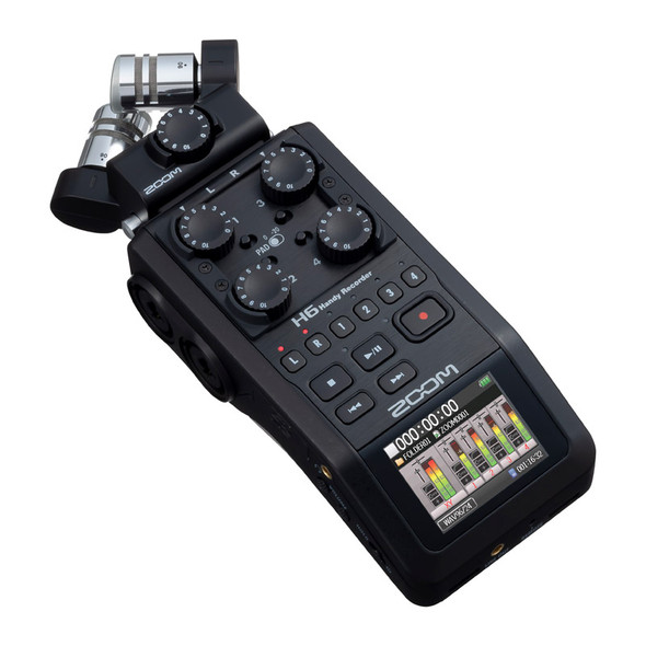 Zoom H6 Handy Recorder, Black Edition