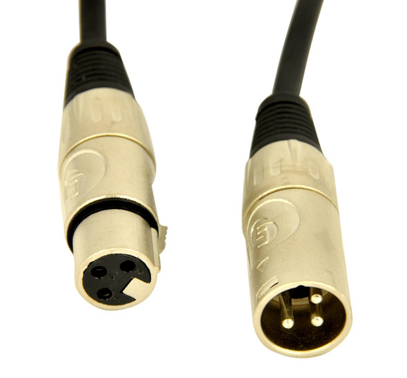 Lynx MEL3C 3 metre XLR to XLR microphone cable