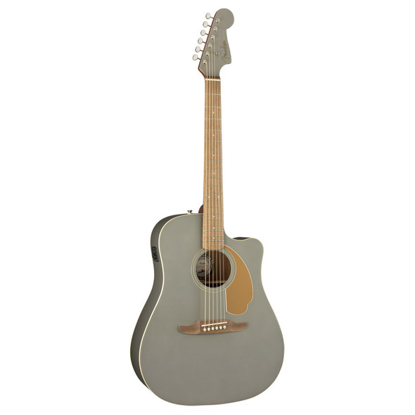 Fender Redondo Player Electro-Acoustic Guitar, Slate Satin, Walnut