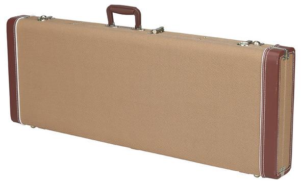 Fender Pro Series Precision/Jazz Bass Guitar Case, Tweed