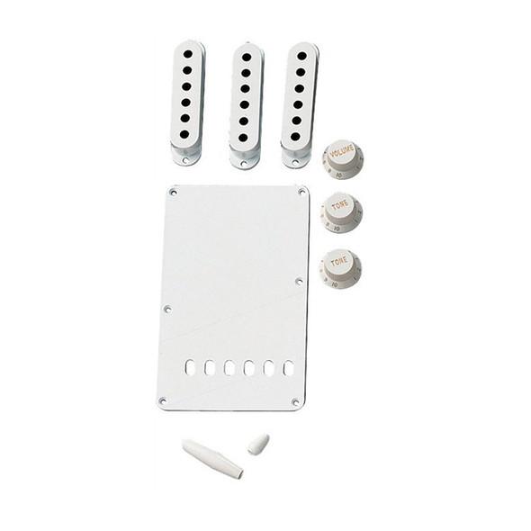Fender Strat Accessory Kit, White