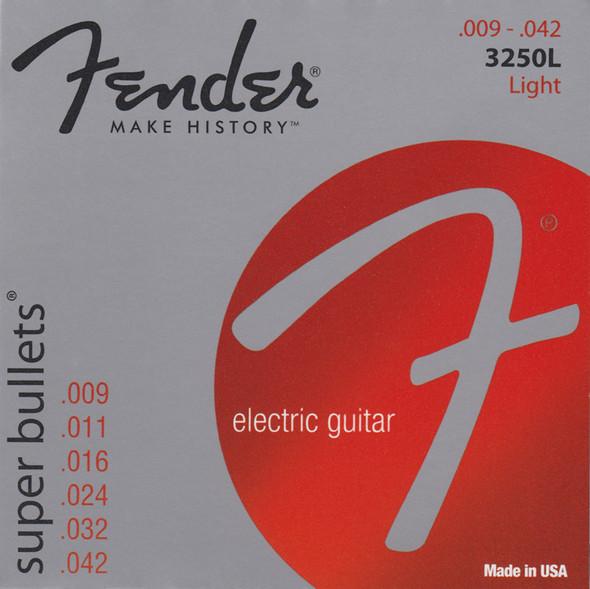 Fender Super Bullets 3250L Electric Guitar Strings 9-42