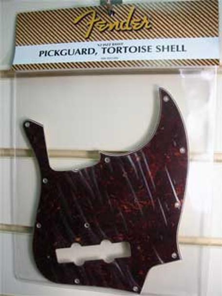 Fender Jazz Bass Guitar Scratchplate Tortoiseshell